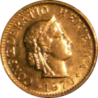 SWITZERLAND - 1970 - 5 Rappen - Obverse