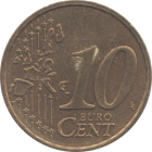 FRANCE - 2001 - 10 Cents - Reverse