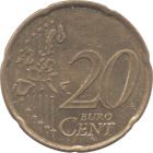 FRANCE - 1999 - 20 Cent - Reverse