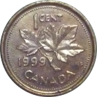 CANADA - 1999 - 1 Cent - Reverse