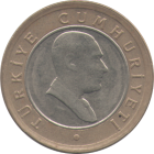 TURKEY - 2005 - 50 New Kuruş - Obverse